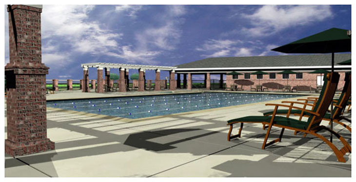 Fairvue Pool Rendering