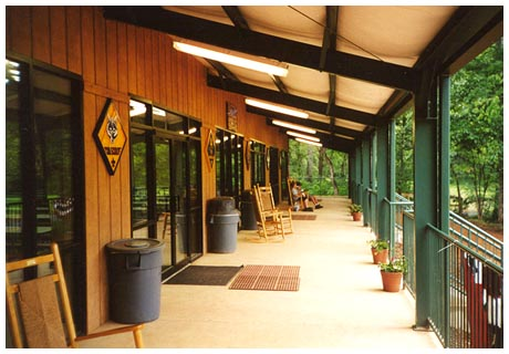 Camp Rainey Porch